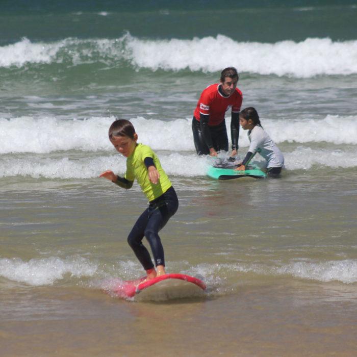 Cours de surf Jardin des vagues Hourtin